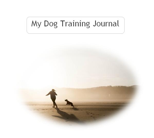 dog training journal