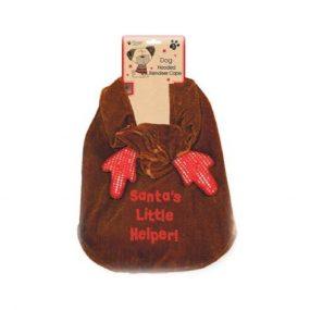 hooded doggie reindeer cape