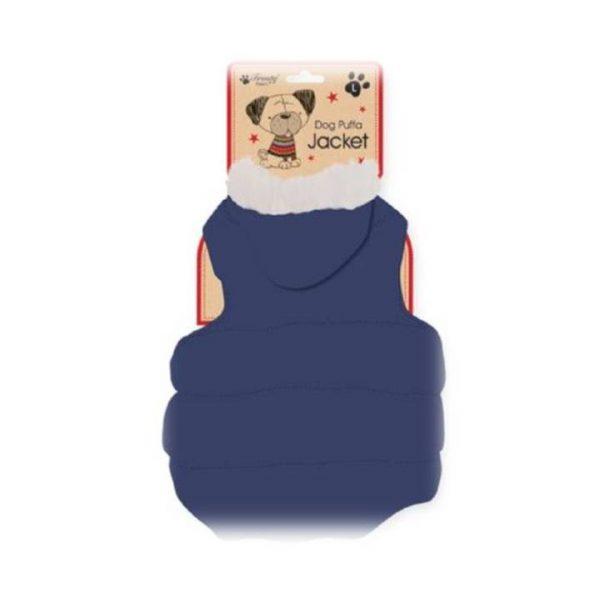 cosy dog puffa jacket